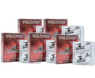3 HỘP bao cao su Volcano  4in1 16 Cái
