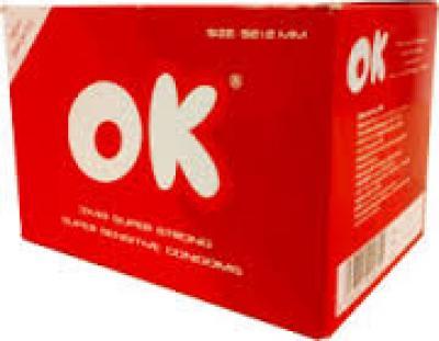 Bao cao su Ok Deluxe đỏ