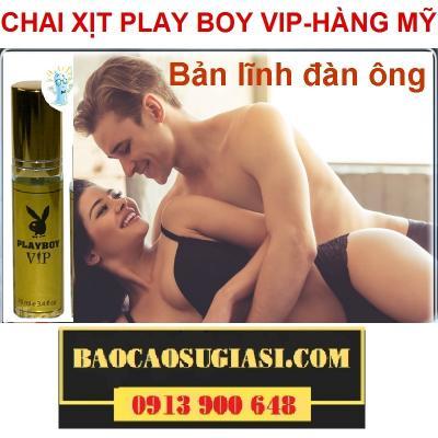 CHAI XỊT CHỐNG XUẤT TINH SỚM PLAYBOY VIP - 0913 9OO 648