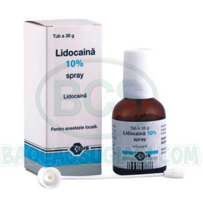 Thuốc xịt thêm thời gian yêu với vợ LIDOCAIN 10%