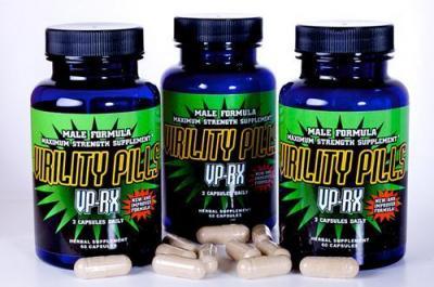 VIRILITY PILLS VPRX - Thuốc tăng kích thước dương vật